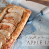 Thumbnail image for Simple & Quick Apple Tart
