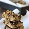Thumbnail image for Healthier Oatmeal Dark Chocolate Bars