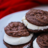 Thumbnail image for Cream Filled Chocolate Cake Cookie Sandwiches