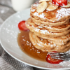 Thumbnail image for Whole Wheat Banana Pancakes