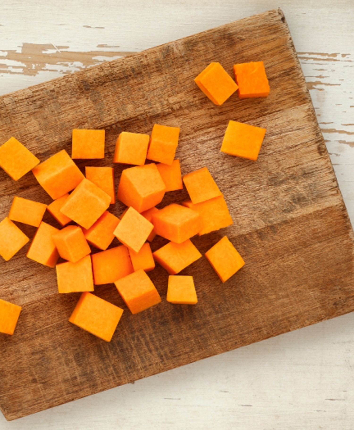 How to cut and cube a butternut squash - Simply Yum