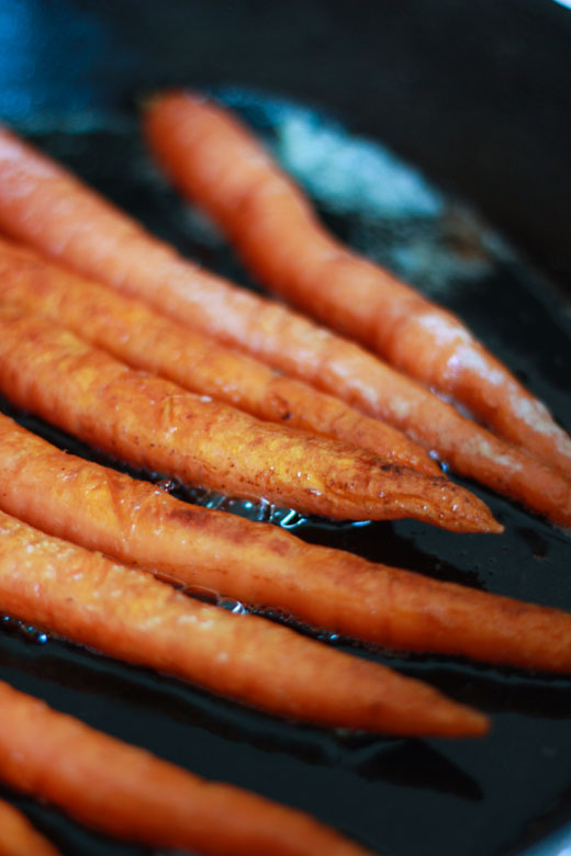 carrots cooked in butter